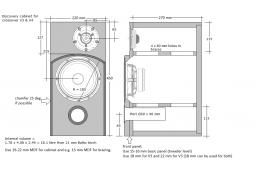 Speaker box Discovery W18