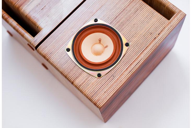 NEW Line speaker box for Fostex FE107E-FE103E pair Japan