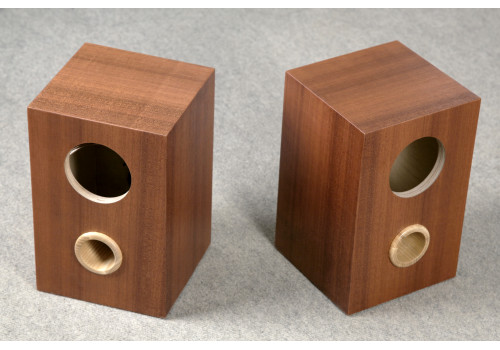 Speaker box for Fostex FE107E - FE103E pair, Bass Reflex Type