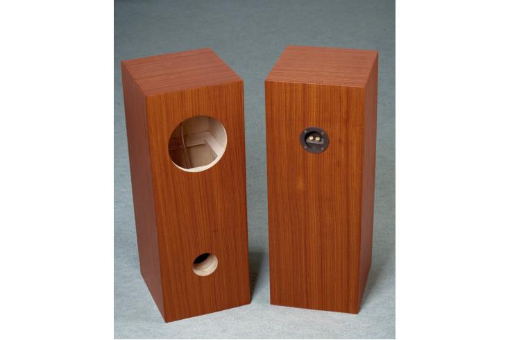 Speaker box for Fostex FE 206E Walnut Bass Reflex Type Enclosure