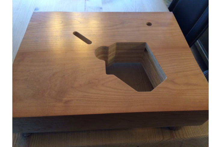 Plinth for Lenco L70,L75,L78 model 1