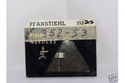 PHONOGRAPH NEEDLE STYLUS PFANSTIEHL 352-S3 ADMIRAL 409B33 409B33-1-1 409B33-1