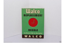 PHONOGRAPH NEEDLE STYLUS WALCO W-10S WEBSTER A-1J A-1M WE-15 WE-17 3 mil