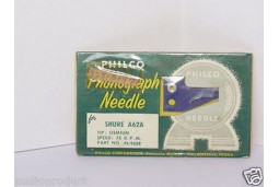 TURNTABLE NEEDLE STYLUS PHILCO 325-8197 SHURE A61A, SHURE A62A, SHURE 3 Mil
