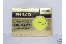 Phonograph needle stylus Philco 325-8224 Webster WE-12LP 1 mil