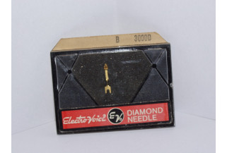 PHONOGRAPH NEEDLE STYLUS Electro voice 30009D ASTATIC N8-1S, VACO RONETTE