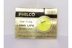 Phonograph needle stylus Philco 325-8217 Webster A-1J,A-1M,WE-15,WE-17 3 mil