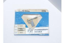 TURNTABLE NEEDLE STYLUS ELECTRO-VOICE 3216 Sonotone N12T-HR