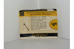 TURNTABLE NEEDLE STYLUS ELECTROVOICE 3009D ASTATIC N8-1S, VACO RONETTE