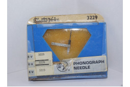 TURNTABLE NEEDLE STYLUS ELECTROVOICE 3229 SONOTONE N25T-SD N28T-SD N25T N28T