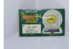PHONOGRAPH NEEDLE STYLUS PHILCO 325-8183 RCA 74818,75496,75770,77899 3 mil