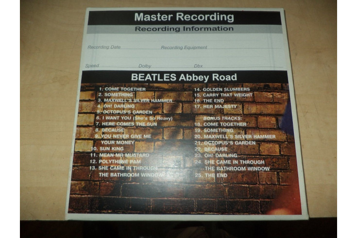 Beatles With The Beatles 2 Track 7 1 2 Ips Reel To Reel