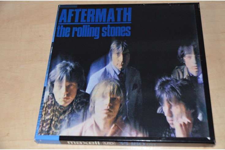 Rolling Stones AFTERMATH 2 track 15 Ips Reel-to-Reel Tape 10