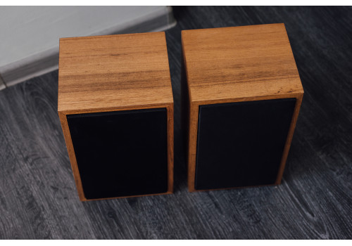 speaker box for Rogers LS 3/5a veneer teak