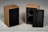 speaker box for Rogers LS 3/5a walnut
