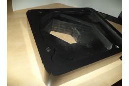 Plinth for turntable Thorens 124 piano glossy black
